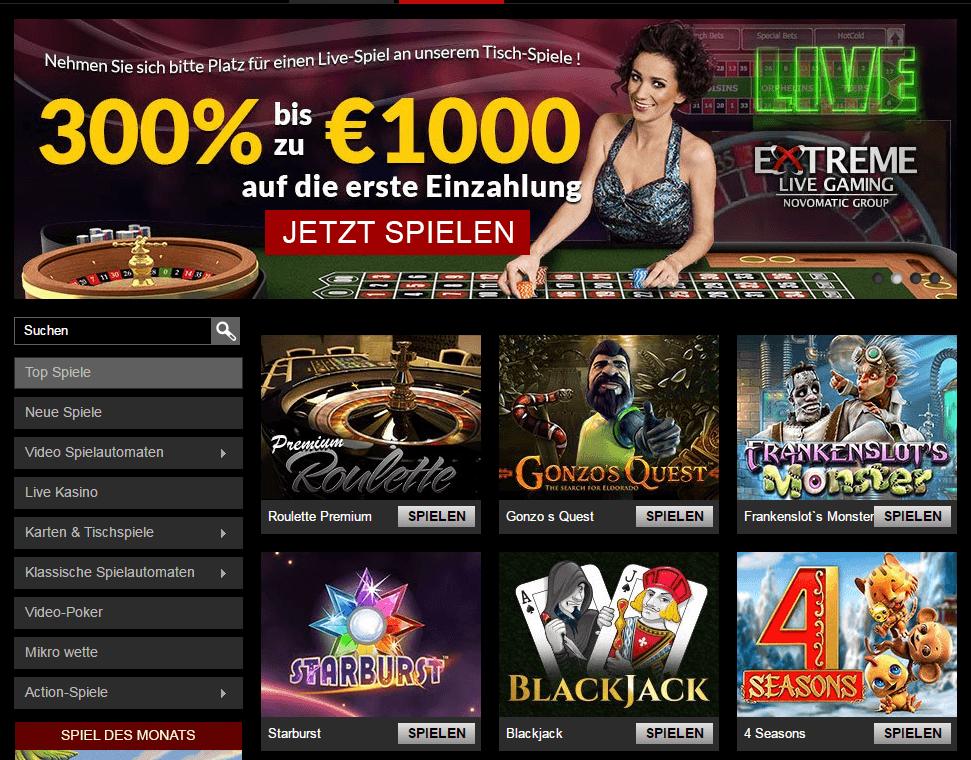casino spiele mit freispiele ohne einzahlung