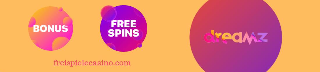 Dreamz casino free spins and bonus
