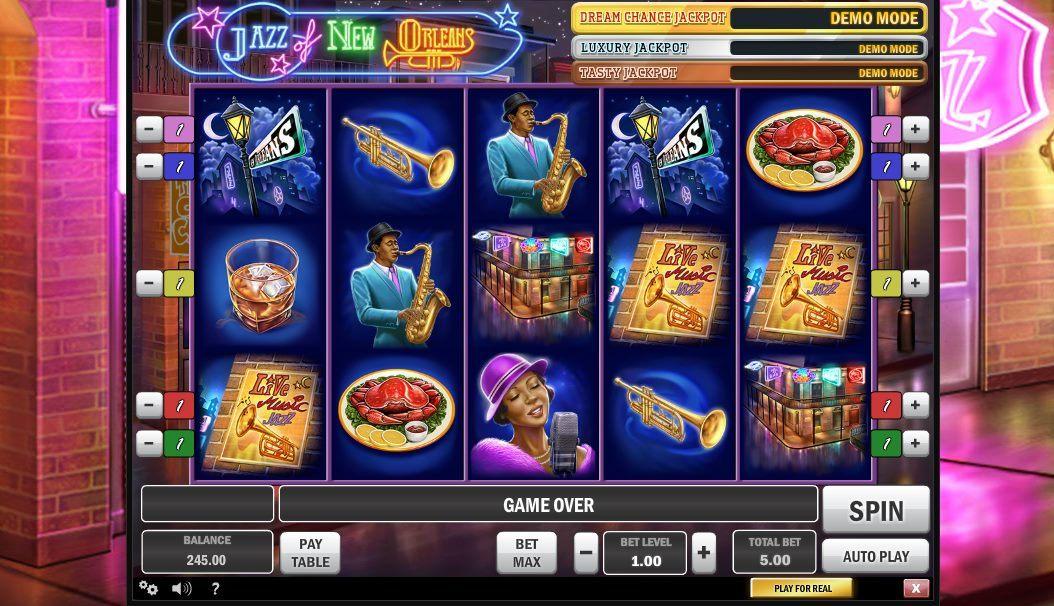 Jazz of New Orleans Slot Machine