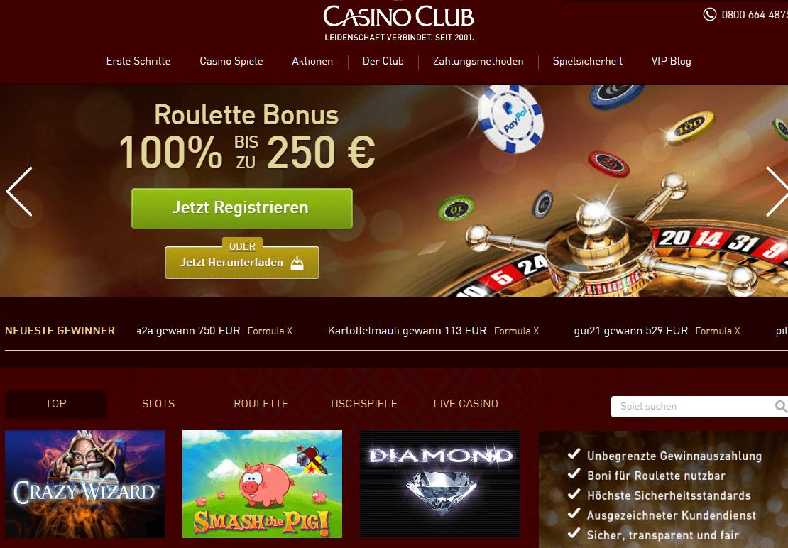 Casino Club Information