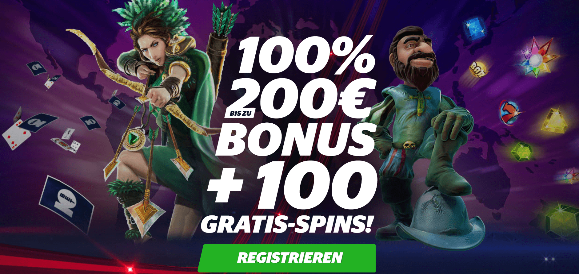 10Bet casino mit Bonus code