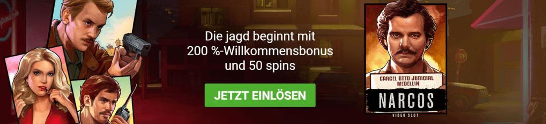 gowild 200% bonus + 50 spins