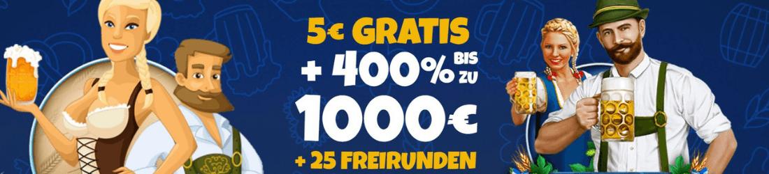 la fiesta €1000 bonus