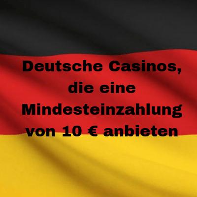 german casino with 10 min deposit