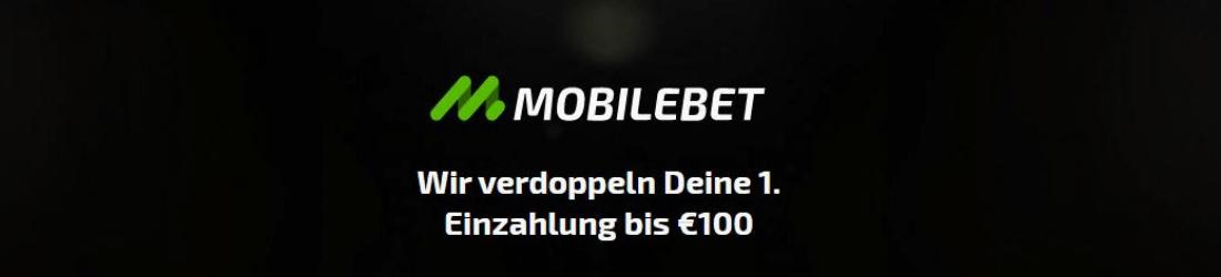 mobilebet 100% bonus bis zu €100
