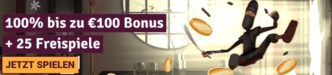 simba games 100€ 25 freespins