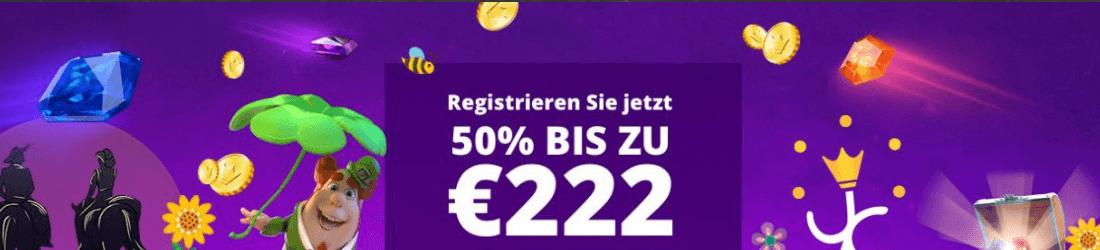yako 222 € bonus