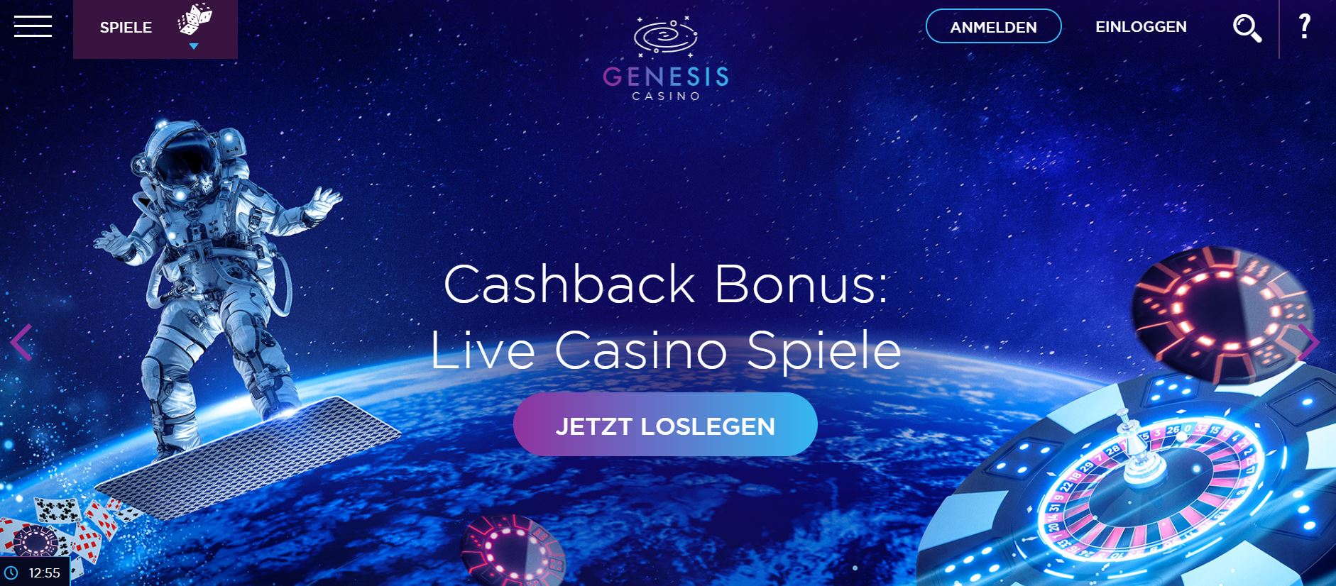 genesus cashback bonus