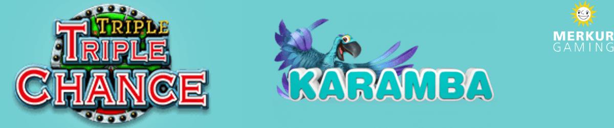 play triple triple chance at karamba