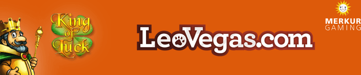 play king of luck at leovegas