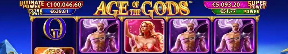 age of the gods slot spiele