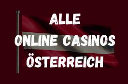 Alle Online Casinos Österreich