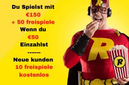 Rizk Casino - 10 Free Spins für Starburst