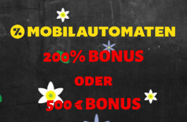mobilautomaten willkommmnesbonus