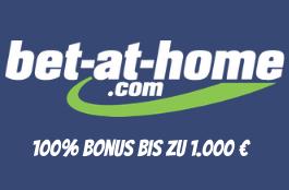 bet at home DE 1000 euro bonus