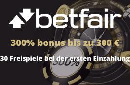 betfair DE 300% bonus