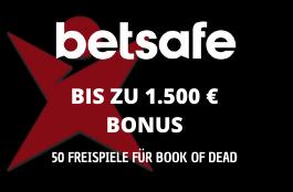 betsafe DE 1500 euro bonus
