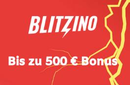 blitzino DE 500 euro bonus