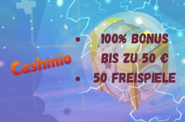 cashmio DE welcome bonus