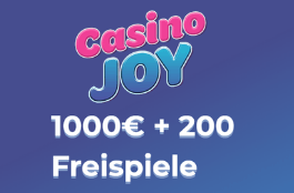 casino joy DE 1000 euro bonus und 200 spins