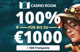casino room 1000 € + 100 Freispiele