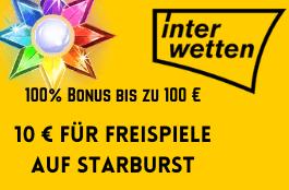 interwetten DE 100 euro bonus