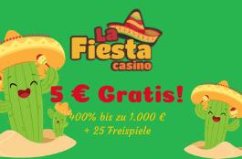 la fiesta casino 5 euro gratis