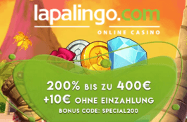 lapalingo DE 200% bonus