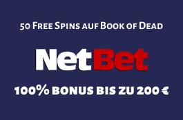 netbet 200 euro bonus und 50 spins