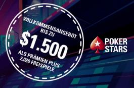 pokerstars DE 1500 euro bonus