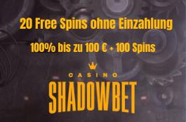 shadowbet DE 20 free spins