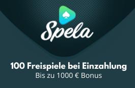 spela DE 1000 euro bonus und 100 spins