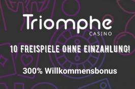 triomphe DE 300% bonus