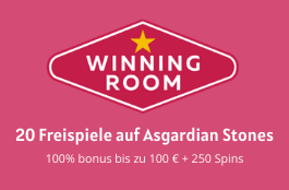 Winning Room DE 20 spins asgaridan stones