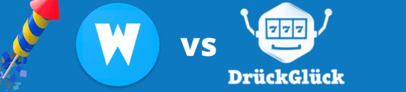 drueck glueck vs wunderino