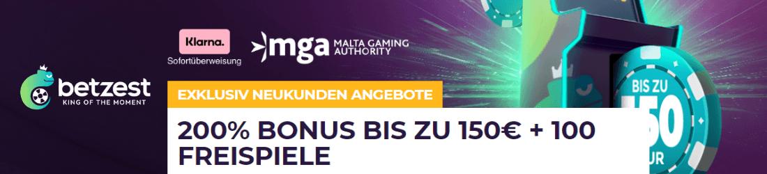 Betzest DE welcome bonus
