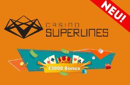 casino superlines DE 3000 euro bonus
