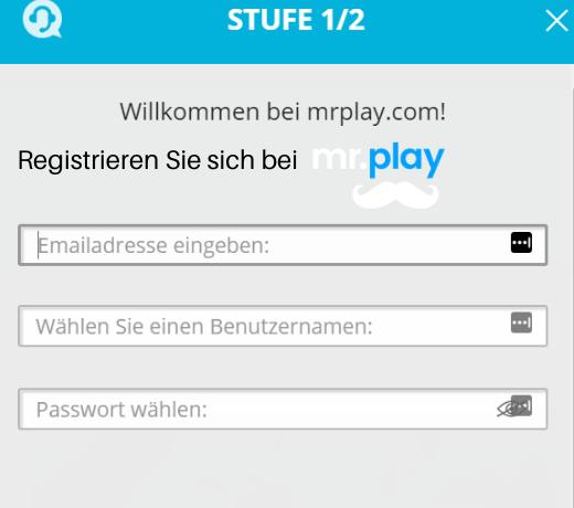 Mr Play Willkommen