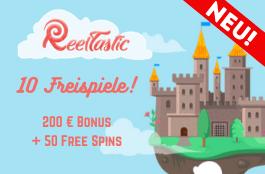 reeltastic 10 free spins