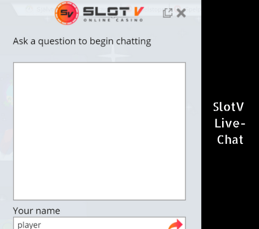 SlotV Live Chat
