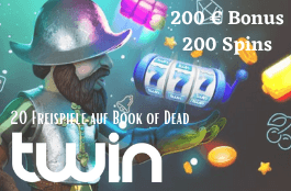 Twin Casino - Exklusiv bonus 20 freispiele