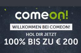 comeon bis zu 200 euro bonus