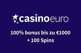 casinoeuro 1000 euro bonus und 100 spins