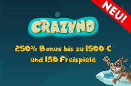 crazyno 1500 euro bonus
