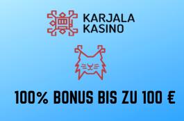 karjala de 100 euro bonus