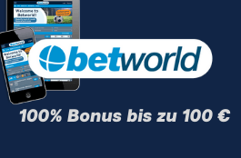 betworld 100 euro bonus