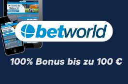 betworld 100 euro bonus