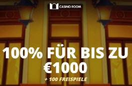 casino room CH 100% bonus und 100 free spins