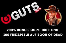 Guts casino Schweiz - 200% Bonus bis zu 100 €
