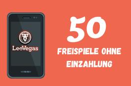 Leovegas Casino - Bonus 50 freispiele ohne Einzahlung